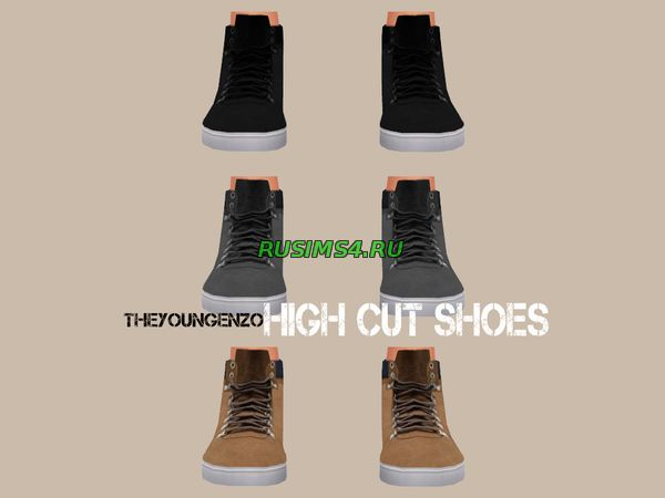 High Cut Shoes от  theyoungenzo