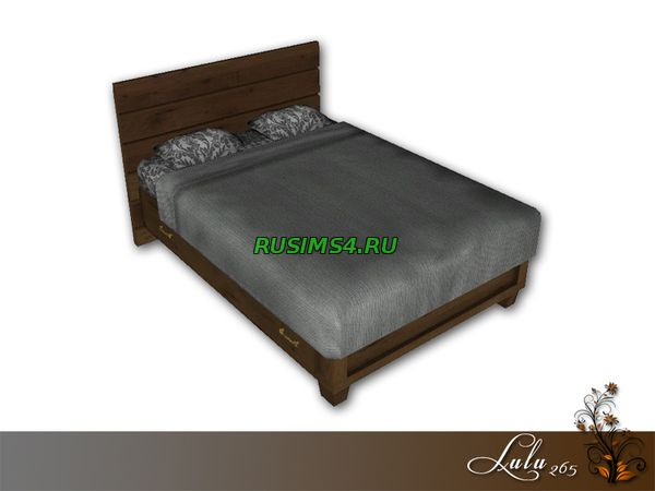 Industrial Bedroom Bed от Lulu265