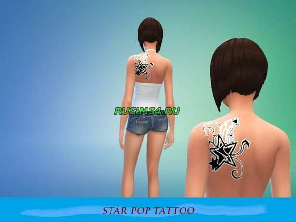 Star pop Tatoo от popocaneitor