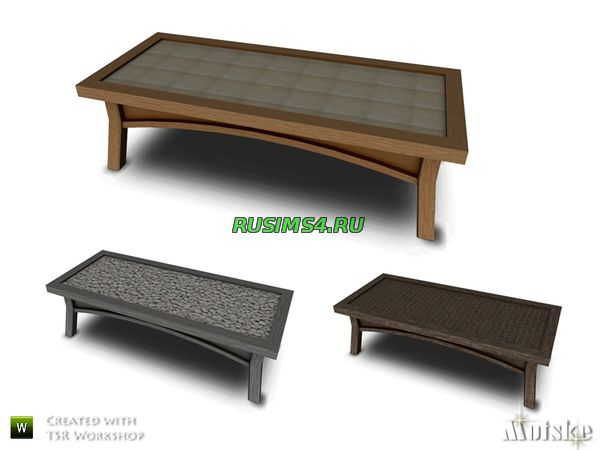 Trenton Coffeetable от mutske