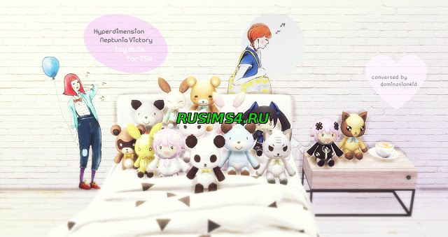 Игрушки Hyperdimension Neptunia Victory Toy Dolls by DominationKid