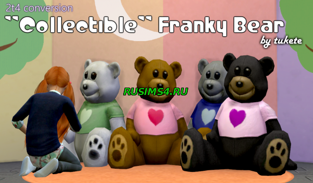 Игрушечный медведь TS2 Collectible Franky Bear Conversion by Tukete