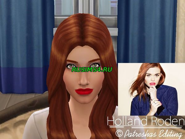 Симка Holland Roden от PatreshasEditing