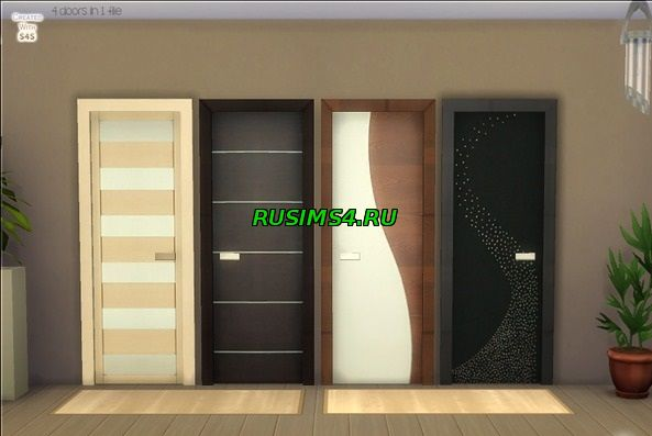 "Сет ""Modern Doors Dream"" от Devirose"