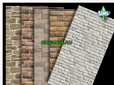 Плитка для стен Bricks walls от Oldbox